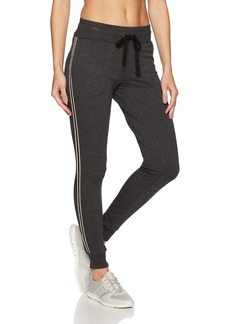 Betsey Johnson Women's Track Tape Sweatpant  L