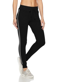 Betsey Johnson Women's Track Tape Sweatpant  S
