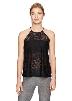 Betsey Johnson Women's Tropic Mesh Tank  XL