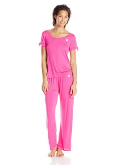 Betsey Johnson Women's Two-Piece Pajama Set