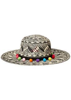 Betsey Johnson Women's Two-Tone Floppy Hat