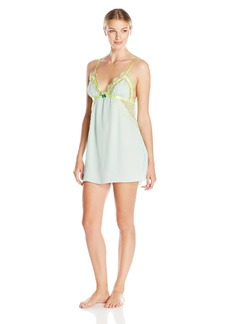 Betsey Johnson Women's Washed Satin Slip