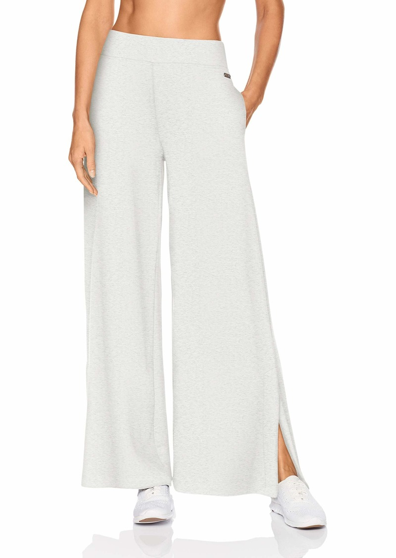 Betsey Johnson Women's WIDE LEG PANT WITH SIDE SLITS    SMALL