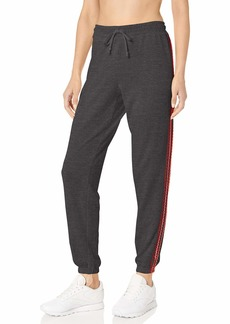 Betsey Johnson Women's Zig Zag Stripe Boyfriend Sweatpant  Extra Small