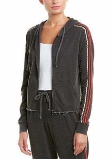 Betsey Johnson Women's Zig Zag Stripe Cutoff Jacket