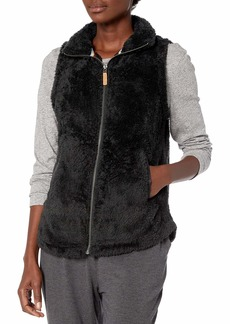 Betsey Johnson Women's Zip Front Sherpa Jacket