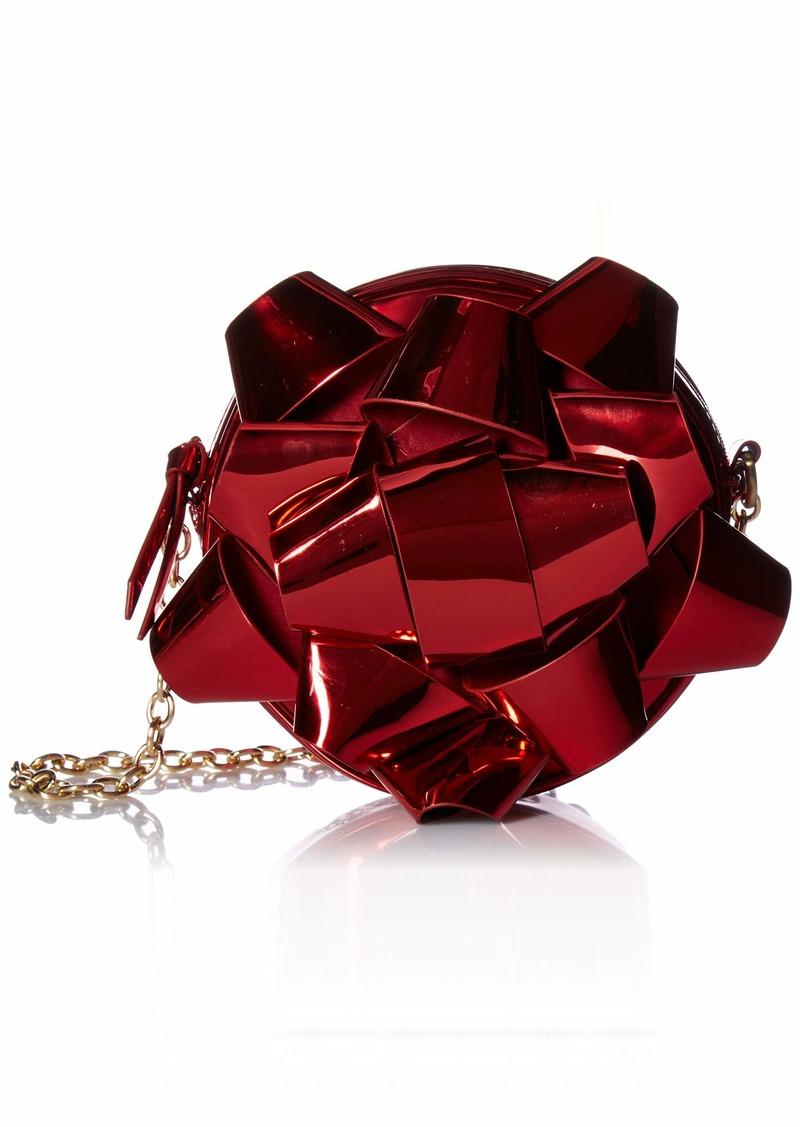 Betsey Johnson Wrap Me Up Crossbody Bag red