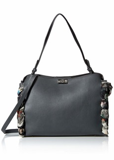 Betsey Johnson Wrapped Up in You 2 Satchel Bag