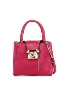 Betsey Johnson You Rang Studded Bucket Bag