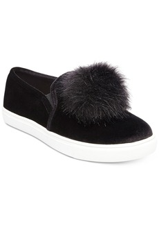 Betsey Johnson Zappp Slip-On Puff Sneakers Women's Shoes