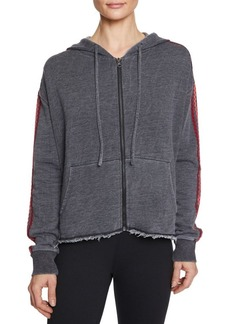 Betsey Johnson Zip-Front French Terry Jacket