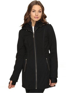 Betsey Johnson Zip-Up Softshell