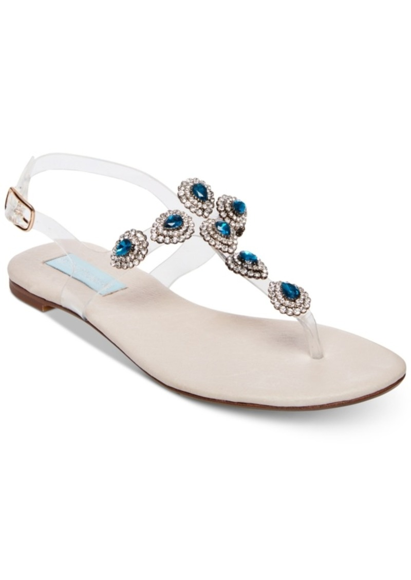 Blue by Betsey Johnson Gabbi Flat Sandals Women's Shoes