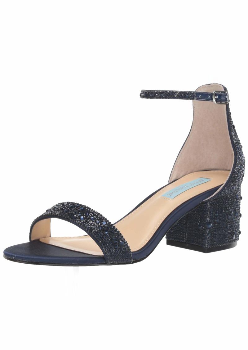 Blue by Betsey Johnson Women's SB-MARI Heeled Sandal   M US
