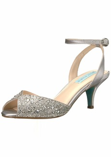Blue by Betsey Johnson Women's SB-Royal Heeled Sandal   M US