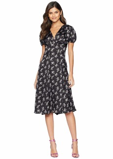 Betsey Johnson Bow Print Maxi Dress