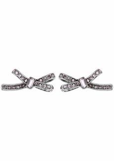 Betsey Johnson Bow Stud Earrings