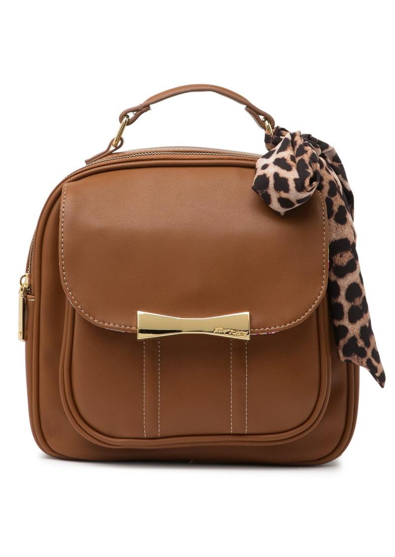 Betsey Johnson Box Scarf Backpack