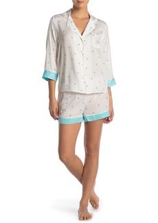Betsey Johnson Bride Print Pajama 2-Piece Set
