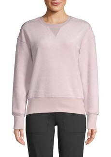 Betsey Johnson Brushed Boyfriend Sweatshirt
