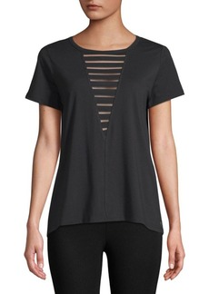 Betsey Johnson Burnout Cutout Top