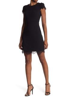 Betsey Johnson Cap Sleeve Lace Dress