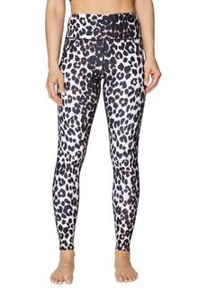 Betsey Johnson Capri Leopard-Print Extra High-Rise Ankle Legging