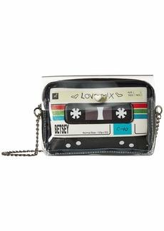 Betsey Johnson Cassette Crossbody