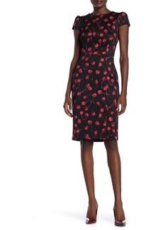 Betsey Johnson Cherry Print Scuba Dress