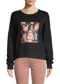 Betsey Johnson Classic Graphic Sweatshirt