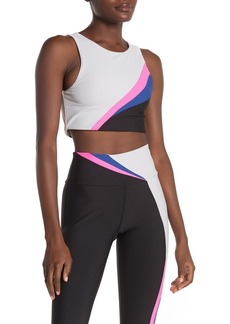 Betsey Johnson Colorblock Sports Bra