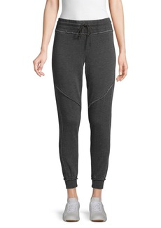 Betsey Johnson Cotton-Blend Jogger Pants