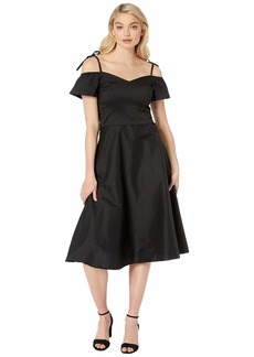 Betsey Johnson Cotton Tea Length Dress