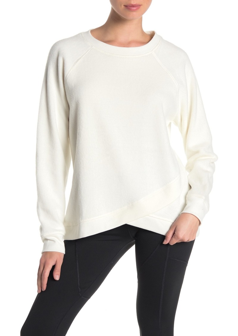Betsey Johnson Crew Neck Knit Sweatshirt