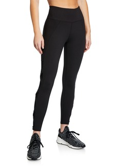 Betsey Johnson Crisscross Cutout Ankle Leggings