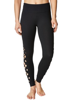 Betsey Johnson Crisscross Side Leggings