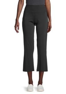 Betsey Johnson Cropped Flare Yoga Pants