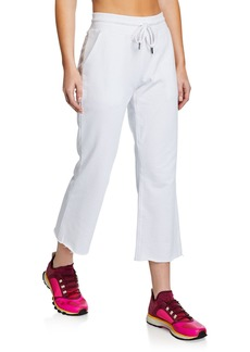 Betsey Johnson Cropped Flared Pants