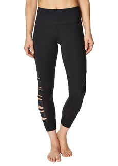 Betsey Johnson Cutout Power Mesh Leggings