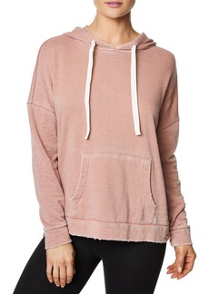 Betsey Johnson Distressed Washed Hoodie