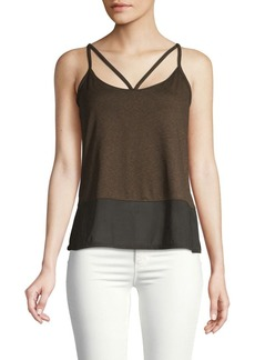 Betsey Johnson Double Strap Tank Top