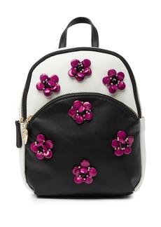 Betsey Johnson Embellished Floral Mini Backpack
