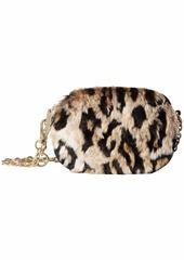Betsey Johnson Faux Fuh Belt Bag