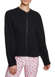 Betsey Johnson Fitted Terry Jacket