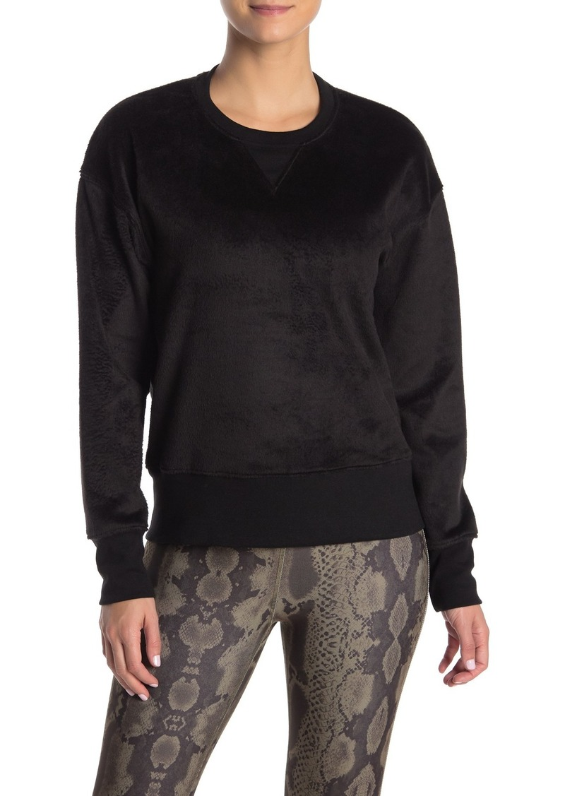 Betsey Johnson Fleece Knit Sweatshirt