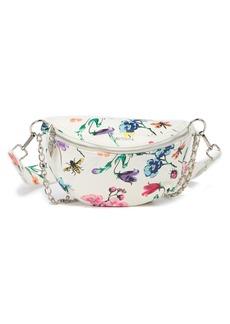 Betsey Johnson Floral Belt Bag