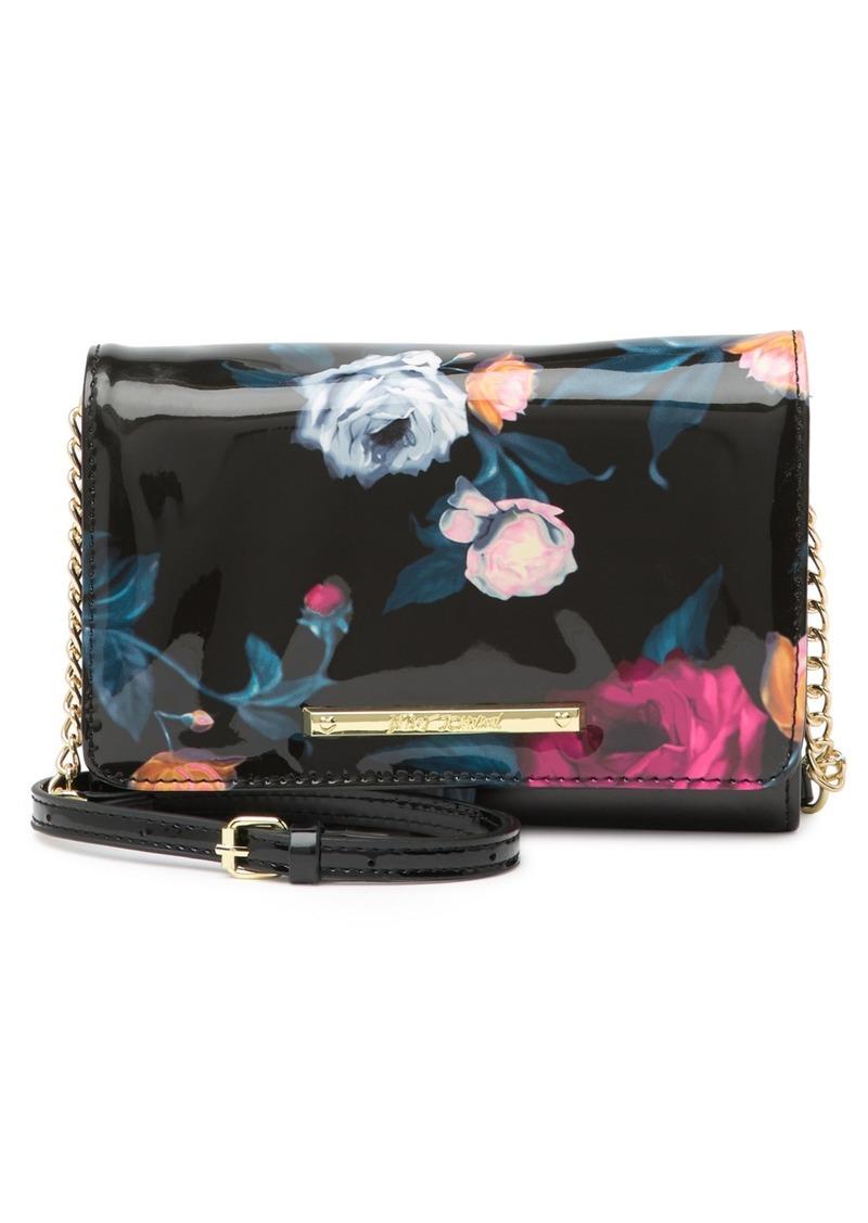 Betsey Johnson Floral Shoulder Bag