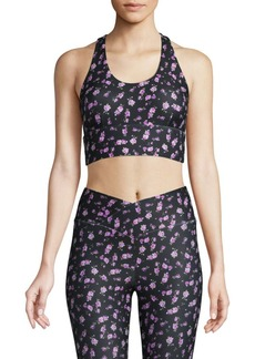 Betsey Johnson Floral Sports Bra