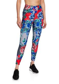 Betsey Johnson Floral Vine Allover Print Legging