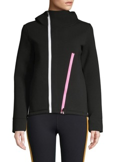 Betsey Johnson Full-Zip Hooded Jacket